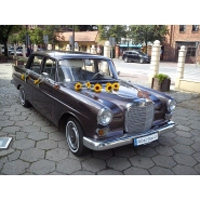 Auto do ślubu Kępno Bmw i Mercedes w110