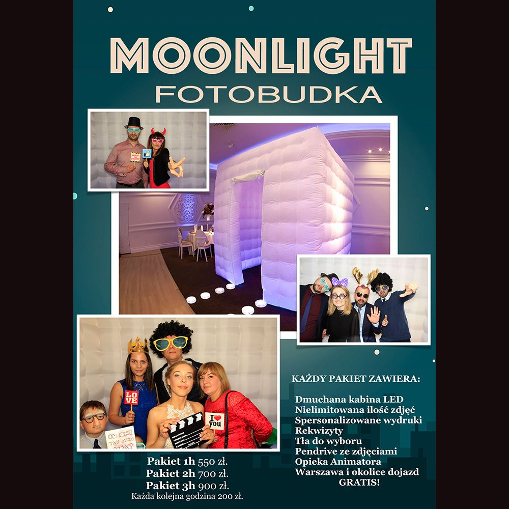 Fotobudka Moonlight