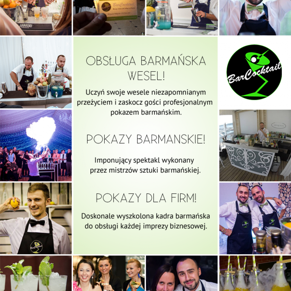 BarCocktail Weselny Bar