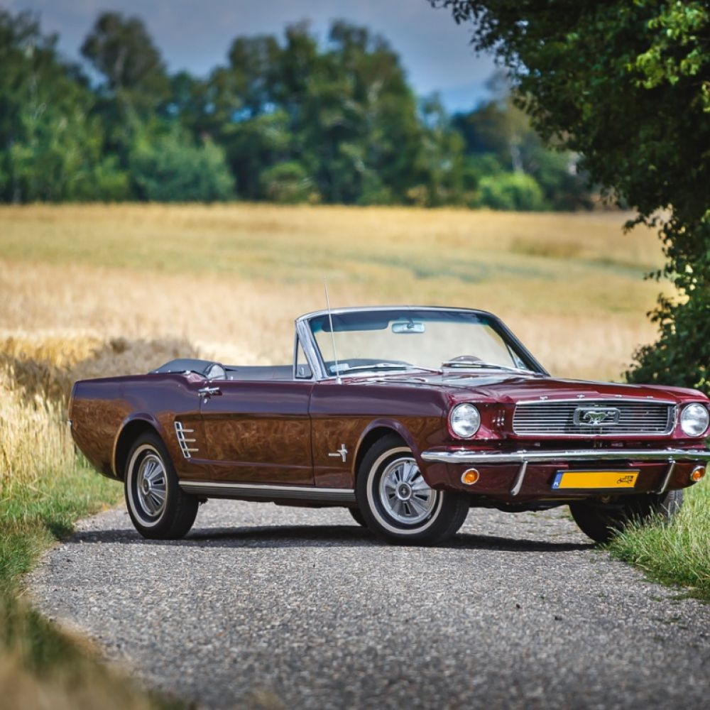 Ford Mustang 66 cabrio
