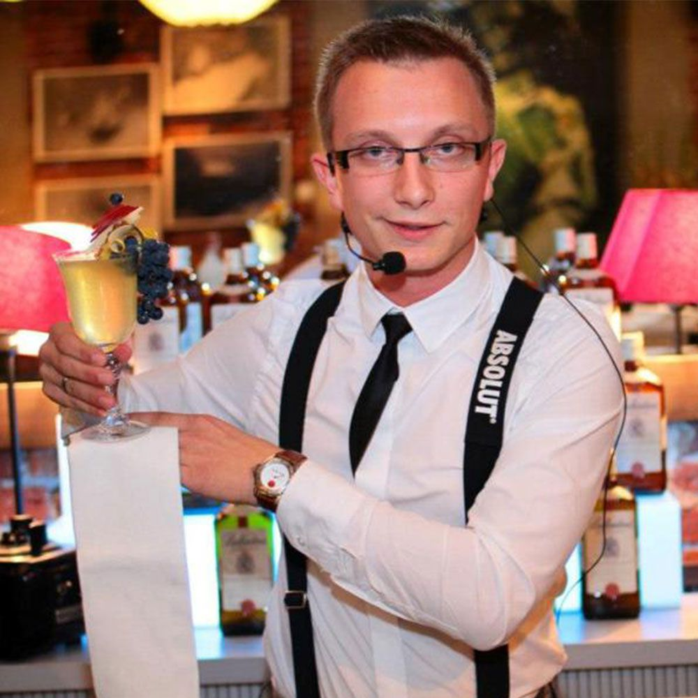 Barman na wesele Kraków Cocktails and dreams event agency